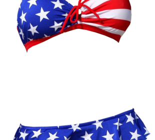 Women's American Flag Bikinis and Tankinis Are Always In Style